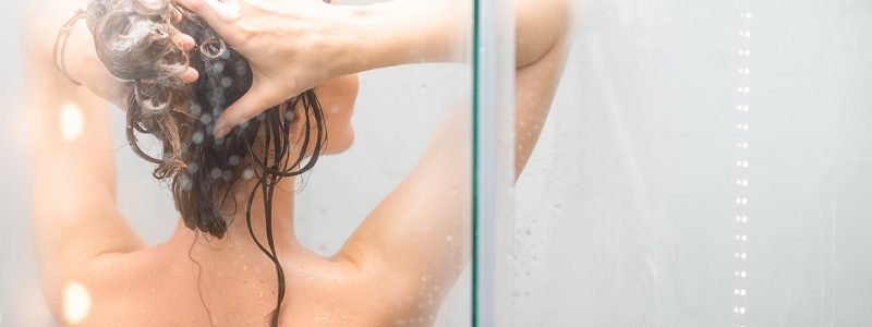 Hydromasaż pod prysznicem